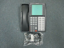 Toshiba Strata CIX CTX DKT 3014 SDL 14 Button Large Display Telephone Charcoal