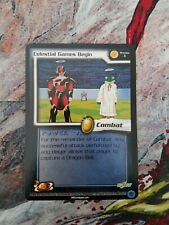 Dragonball Z TCG: Preview Card 1 - Celestial Games Begin Limited NM