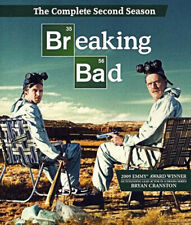 Breaking Bad: The Complete Second Season (Season 2) (3 Disc) BLU-RAY NEW