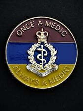 Royal Army Medical Corps RAMC OAM Colours Lapel Pin