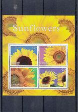 St Vincent & The Grenadines 2014 MNH Sunflowers 4v M/S Sun Flowers Helianthus