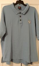 Nike Mens Golf Tee Short Sleeve Shirt Sz Xlarge Unc Tarheels Blue Polo Rugby