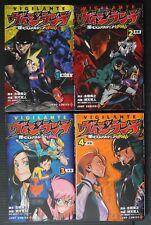 JAPAN manga LOT: My Hero Academia Illegals: Vigilantes vol.1~4 Set