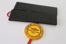 100% genuino nuevo OEM Breitling Negro Correa de implementación de goma Diver Pro 3 22-20 mm