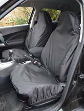 HEAVY DUTY WATERPROOF FRONT BLACK SEAT COVERS 1+1 For VAUXHALL ASTRA VAN (06+)
