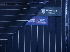 DORMEUIL 70%WOOL & 30% MOHAIR SUITING FABRIC <TONIK 2000 > MADE IN ENGLAND-3.4 m