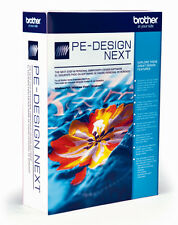 NEW Brother PE Design Next Embroidery Software Digitizing Version 9 Training DVD