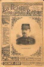 Général Jean-Baptiste Billot Député Sénateur Saint-Cyr/ Mission de GRAVURE 1892