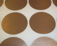 200 Gold 13mm 1/2 Inch Colour Code Dots Round Stickers Sticky ID Labels