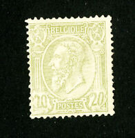 Belgium Stamps # 56 Fresh OG VLH Scott Value $200.00