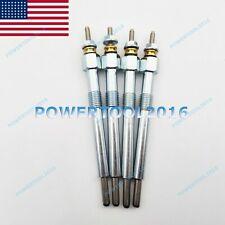 4 X Glow Plug 6684850 For Bobcat Loader T110 T140 T180 T190 5610 331 334 335 337