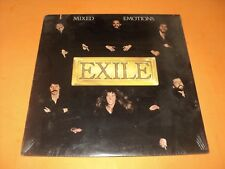 EXILE MIXED EMOTIONS VINYL RECORD FACTORY SEALED.