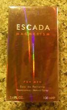 Escada MAGNETISM Men EDT Spray 3.4 oz, FACTORY SEALED, PLEASE READ