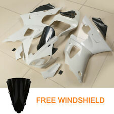 Unpainted Injection Fairing Body Work Windscreen Fit Yamaha YZF R1 2000 2001