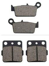 HONDA CRF450R 2002–2019 Tusk Front /& Rear Brake Pads Carbon Break Pad Set TB1