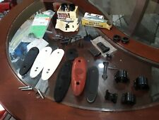 Lot Of Vintage Gun Accessories Rings Sights Recoil Pads Butt Plates