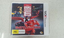 Disney Big Hero 6 Battle in the Bay 3DS Game Brand New