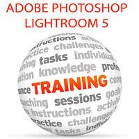 Adobe PHOTOSHOP LIGHTROOM 5 - Video Training Tutorial SET 6DVD