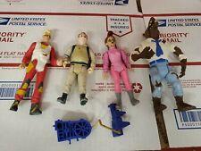 Vtg Ghostbusters action figure lot Janine Ray Back Pack Werewolf Wolfman lot (mv