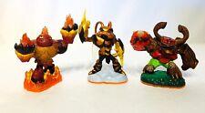 "LOT of 3 Skylander Giants 3"" Hot Head,Swarm,Tree Rex WiiU Xbox PS3  Figure"