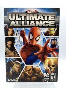 Marvel Ultimate Alliance PC 2006 Complete w/ Manual [Win XP] - Rare!