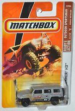 Matchbox 2009 #99 Outdoor Sportsman #11 Hummer H3 Desert Race 3000 MOC VHTF