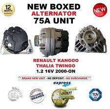 für RENAULT KANGOO THALIA TWINGO 1.2 16V ab 2000 NEU 75A Lichtmaschine Einheit