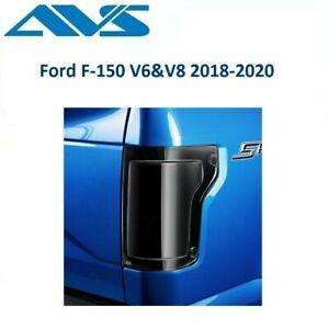 AVS Tailshades Blackout Tailight Covers For Ford F-150 V6&V8 2018-2020 - 33634