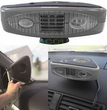 12v Portable 2in1 Car Heater Fan & Windscreen Demister Defroster With Light H400