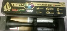 Leapers UTG, AccuShot, swat Rifle Scope, 4-16X 44, 30MM, 36-Color Mil-Dot Ret
