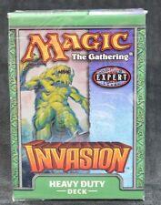 "Magic The Gathering Invasion Theme Deck "" Heavy Duty "" 60 Sealed MTG Cards"