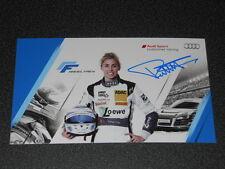 AUDI SPORT carte pilote Suisse FRAHEL FREY sur R8 LMS Cup 2015 - avec autographe