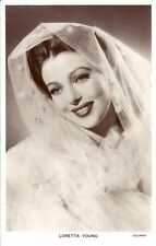Loretta Young Original Picturegoer Postcard W 14