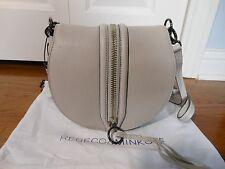 New Authentic Rebecca Minkoff $295 Mara Saddle Leather Bag Handbag Purse,Putty