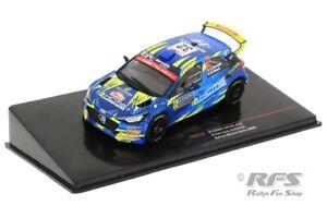 Hyundai i20 R5 Rallye Rally Monte Carlo 2020 Stephane Sarrazin 1:43 IXO RAM 754