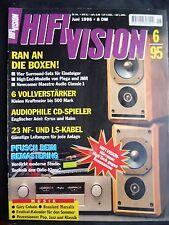 HIFI VISION 6/95 jmr offrande, piega LDR 8.2, maestro Audio Classic 1, Naim CD 3
