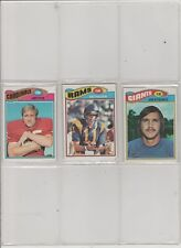 1977 TOPPS FOOTBALL PICK-15 TO COMPLETE YOUR SET OR TEAM SET    NEAR-MINT/MINT