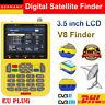 """V8 Freesat Satfinder HD 3,5"""" LCD Digital Satellite Finder DVB-S/S2 FTA MPEG-2 DE"""