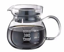 Tiamo – 380ml* Glass Coffee/Tea Server Pour-Over/Filter/Drip Coffee Pot (HG2201)