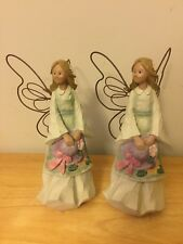 Rare- 7� tall! Angel Accents- Roman- Angel with Hat- Two (2) (Vendor Displays)