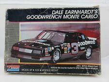 1988 Monogram Dale Earnhardt Goodwrench Monte Carlo Kit 3t