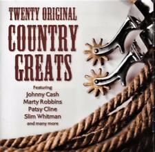 TWENTY ORIGINAL COUNTRY GREATS - VARIOUS ARTISTS (NEW SEALED CD)