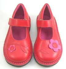 DE OSU/FARO 5Q0311 - Girls Red Pink Dress Casual Mary Jane Shoes -Euro 24 Size 7
