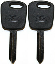 2 New FORD PATS Replacement Transponder Chip Logo Key Blank Ford Lincoln Mercury