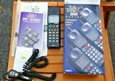 Vintage Mobile Phone Nec Talk Time 800 Vintage Analog Mobile Cell Phone.Brick