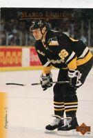 MARIO LEMIEUX 1995-96 Upper Deck #84 Pittsburgh Penguins