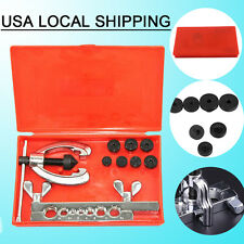 Double Flaring Brake Line Tool Kit Tubing Car Truck Tool