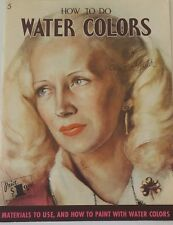 Walter T. Foster Art Instruction Book HOW TO DO WATER COLORS 5 Painting