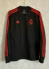 REAL MADRID ULTIMATE TRAINING TOP Black/Red CW8688 Adidas Men's