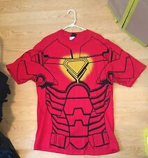 Iron Man Ironman Red Costume Shirt Size Sz Xl